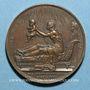Monnaies Naissance du duc de Bordeaux. 1820. Médaille bronze