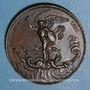 Monnaies Naissance du duc de Bordeaux 1820. Médaille bronze