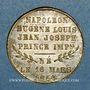 Monnaies Naissance du Prince impérial. 1856. Médaille en laiton. 23,52 mm