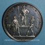 Monnaies Napoléon I. Couronnement de l'empereur, an XIII. Médaille argent. 40,8mm