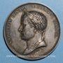 Monnaies Napoléon I. Paix d'Amiens. 1802. Médaille en argent. 48 mm. Gravée par Dumarest