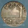 Monnaies Nevers. Caisse d'Epargne. Médaille en argent. 40,8 mm. Gravée par A. Patey