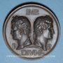 Monnaies Nîmes. Congrès scientifique de France. 1844. Médaille bronze. Gravée par Marius Penin