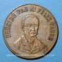 Monnaies Orange. Inauguration des fêts littéraires du théâtre antique. 1897. Médaille en cuivre