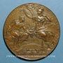 Monnaies Paris. Exposition universelle. 1889. Médaille en bronze. 63 mm. Gravée par Bottée