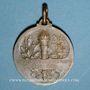 Monnaies Pasteur (1822-1895). Centenaire de sa naissance. 1922. Médaille en bronze. Gravée par Prud'homme
