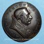 Monnaies Paul II (1464-1471). Scène de chasse. Médaille de restitution, bronze