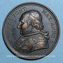 Monnaies Pie VIII (1829-1830). Médaille bronze, 1829
