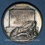Monnaies Pierre Corneille, tragédien (1606-1684). Médaille argent gravée par Dassier