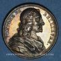 Monnaies Pompone de Belliévre, magistrat (1529-1607). Médaille argent gravée par Dassier