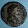 Monnaies Priam, roi de Troie, vers 1550. Médaille bronze coulé. 38,4 mm.