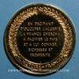 Monnaies Prise d'Alger. 1830. Médaille vermeil. Frappe moserne !