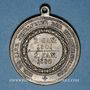 Monnaies Prusse. Guillaume I. 25e année de règne. 1886. Médaille bronze. 33,42 mm. Avec son oeillet