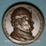 Monnaies René I d'Anjou, roi de Jérusalem, de Naples, de Sicile et d'Aragon, de Bar..., médaille cuivre 1819