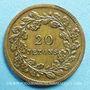 Monnaies Rétablissement de la statue de Napoléon I sur la colonne d'Austerlitz. 1833. Médaille cuivre 22,4 mm
