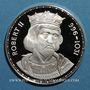 Monnaies Robert II (996-1031). Médaille argent. 38,5 mm.