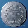Monnaies Saint-Etienne. Exposition Industrielle. 1891. Médaille aluminium