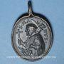Monnaies Saint-Gall (vers 550 † 16.10.646) et St Magne de Füssen (vers 699 † 772). Médaille (17e)