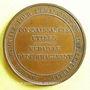 Monnaies Société Nationale pour l'Emancipation Intellectuelle. 1831. Médaille en bronze. 33,2 mm