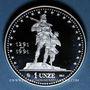 Monnaies Suisse. 700e anniversaire de la Confédération Helvétique. 1991. Médaille argent (1 once). 32 mm