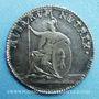 Monnaies Suisse. Bâle. 3e centenaire de l'université 1760. Médaille argent 21,5 mm, gravée par Mörikofer