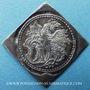 Monnaies Suisse. Bâle. Médaille religieuse (1ère moitié du 17e s.). Arg. 18x5 x 18,9 mm, gravée par F. Fecher