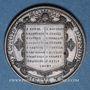 Monnaies Suisse. Genève. Commémoration de l'Escalade de Genève. 1840. Médaille bronze. 25 mm