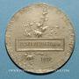 Monnaies Union Syndicale des Tissus, matières textiles et habillellement. 1912. Médaille en argent