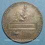 Monnaies Union Syndicale des Tissus, matières textiles et habillellement. 1934. Médaille en argent