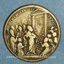 Monnaies Vatican. Benoît XIV (1740-1758). Ouverture de la Porte Sainte. 1750. Médaille bronze