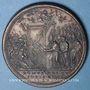 Monnaies Vatican. Grégoire XIII. Ouverture de la Porte Sainte. 1575. Médaille de restitution, bronze