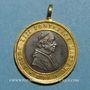 Monnaies Vatican. Léon XIII (1878-1903). Commémoration de l'Immaculée Conception. (1878). Médaille
