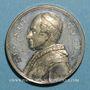 Monnaies Vatican. Léon XIII (1878-1903). Jubilé sacerdotal. (1888). Médaille étain