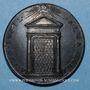 Monnaies Vatican. Nicolas V (1447-1455). Jubilée de 1450. Médaille de restitution, bronze