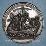 Monnaies Vatican. Pie IX (1846-1878). Défense des droits de l'Eglise, an XXIV - 1869. Médaille cuivre