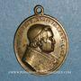 Monnaies Vatican. Pie IX (1846-1878). Dévotion à Saint Michel des Saints. (1846). Médaille bronze