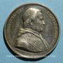 Monnaies Vatican. Pie IX (1846-1878). Election du pape (1846). Médaille étain