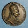 Monnaies Vatican. Pie VIII (1829-1830). Dévotion à Saint Pierre et Saint Paul. Médaille bronze