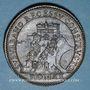 Monnaies Vatican. Urbain VIII. Construction du Palais de Castel Gandolfo. Médaille annuelle an XVI (1638)