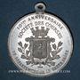 Monnaies Vesoul (Franche-Comté, Haute-Saône). 10e anniversaire des courses de Vesoul (1914). Médaille en alu.