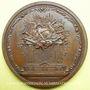 Monnaies Voltaire (1694-1778). Médaille bronze 1770. Signé G.C. WAECH - TERF.