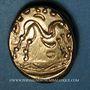 Monnaies Ambiani (région d'Amiens). Statère, 2e moitié du 1er siècle av. J-C
