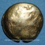 Monnaies Ambiani (région d'Amiens). Statère, vers 60 - 30/25 av. J-C.