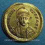 Monnaies Arcadius (383-408). Solidus. Constantinople, 4e officine, 403-408