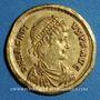 Monnaies Arcadius (383-408). Solidus. Sirmium, 1ère officine, 393-395