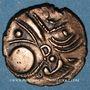 Monnaies Aulerques Eburovices. Hémistatère au sanglier, 2e siècle - 1ère moitié du 1er siècle av. J-C