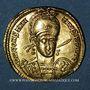 Monnaies Constance II (337-361). Solidus. Trèves. R/: Rome et Constantinople