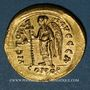 Monnaies Empire byzantin. Anastase (491-518). Solidus. Constantinople, 1ère officine (507-518)