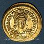 Monnaies Empire byzantin. Anastase (491-518). Solidus. Constantinople, 5e officine (498-518)