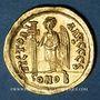 Monnaies Empire byzantin. Anastase (491-518). Solidus. Constantinople, 6e officine, 491-498